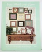 Cross Stitch Chart Sue Hillis Designs More Hearts and Flowers