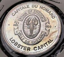1989 Shediac New Brunswick $1 Trade Dollar - Lobster Festival