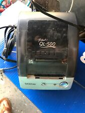 Brother P-touch QL-500 Label Printer with Power Cord Pre-owned, Used