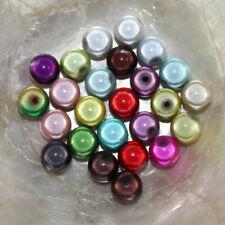 PERLE MAGIQUE MIRACLE - RONDE - 10 mm -  Effet Oeil de Poisson - Lot Multicolore
