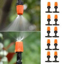 10Stuck Micro-Drip Tropfer Regulierbar Endtropfer Garten Bewässerung Tropfer~-