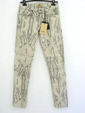 "JEAN ""ICHI"" MARBRE GRIS SKINNY TAILLE MOYENNE W29L32 / F 39 PRIX BOUTIQUE 54 €"