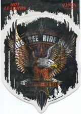 LIVE FREE RIDE FREE legendary heritage STICKER -eagle biker choppers -y ja202
