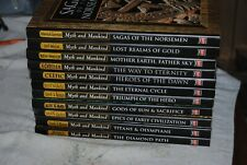 Lot of 11 Time Life Myth and Mankind Hardcover Books with Dust Covers Set