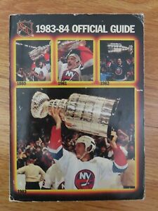Official GUIDE Book 1983-84 NEW YORK ISLANDERS 1980 1981 1982 Champs MIKE BOSSY