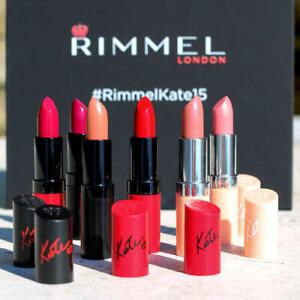 Rimmel Lipsticks red pink coral beige peach brown purple clear orange nude cream
