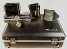 MINOLTA Auto Bellows Macro Set in Original Briefcase with Keys
