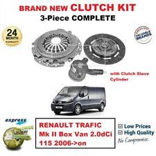 LAGUNA ESPACE 1.9 DCI 6 velocità 2001 /& GT CLUTCH KIT NEW 3pz