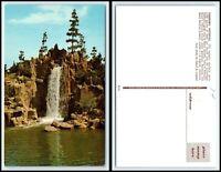 CALIFORNIA Postcard - Busch Gardens, Panoramic Waterfall H5