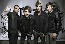 All Time Low Rock band Fabric Art Cloth Poster 20 inch x 13 inch  Decor12