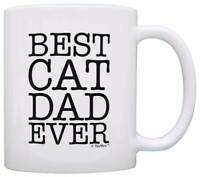 Cat Lover Gifts Best Cat Dad Ever Pet Owner Rescue Coffee Mug Tea Cup
