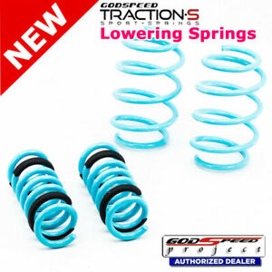Traction-S Sport Springs For BENZ C-CLASS 2008-14 W204 Godspeed# LS-TS-BZ-0002