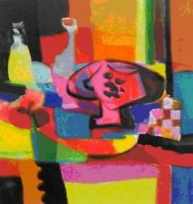 "Marcel Mouly    ""La Compotier Rose""      MAKE  OFFER   #DDSBA"