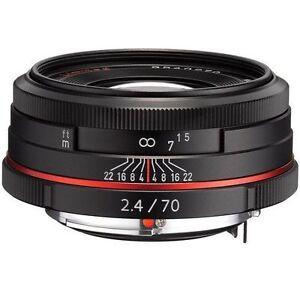 [NEAR MINT] PENTAX Pentax DA Limited 70mm F/2.4 HD SP Lens  (N052)