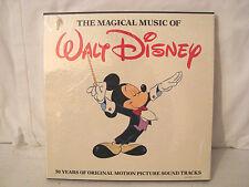 THE MAGICAL MUSIC OF WALT DISNEY SEALED BOX SET