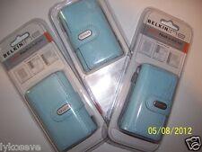 Belkin  Leather Pouch for iPod Minis (Blue) Belkin F8E579-BLU-APL Leather Pouch