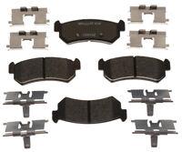 Disc Brake Pad Set-R-Line; Ceramic Rear Raybestos MGD1036CH