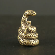 Brass Twelve Zodiac Snake Incense Burner Lying Incense Sandalwood Incense
