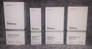 The Ordinary Skin Care Bundle 4 Items Cleanser Serum Moisturiser NEW (other)