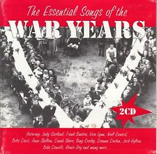 THE ESSENTIAL SONGS OF THE WAR YEARS - 2 Disc CD