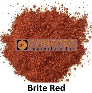 Custom curbing concrete edging landscaping Borders DIY Color BRIGHT RED 3 LB