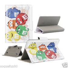 Housse Etui Tablette Polaroid - 7 Pouces - Design MM'S - Depart de France
