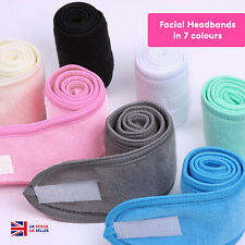 Makeup Adjustable Hair Band Facial Head Band Wrap Elastic Fabric Spa Shower