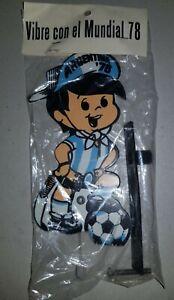 FIFA WORLD CUP ARGENTINA 1978 vintage GAUCHITO Mascot BIKE ORNAMENT rare SOCCER