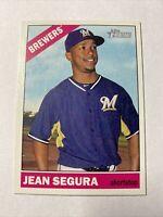 2015 Topps Heritage Baseball Jean Segura Milwaukee Brewers Card #12