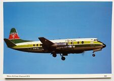 Manx Airlines Viscount 810 Postcard
