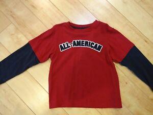 Boy Gymboree All American Shirt 6 NWOT