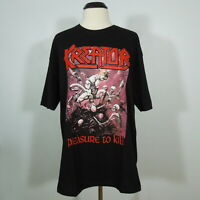 KREATOR Pleasure To Kill T-Shirt Black Men's size XL (NEW)