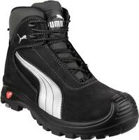 CASCADE MID 630210 Mens Leather Composite Toe S3 HRO SRC Safety Shoes Black