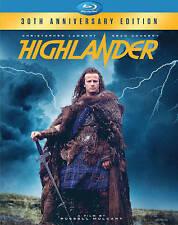 Highlander (Blu-ray Disc, 2016, 30th Anniversary) Includes Original Slip Cover