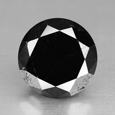 1.98 Cts QUALITY FANCY BLACK COLOR NATURAL LOOSE DIAMONDS- SI1
