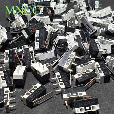 1/2/5pcs 2A 125V Micro Limit Switch End Stop Lever Arm NO/NC Snap Action