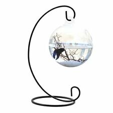 Fish Bowl Tank Flower Plant Vase Clear Round Shape Hanging Ball Glass Aquarium