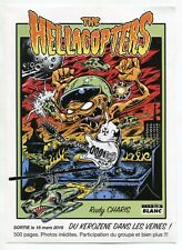 "Color Ad Flyer: ""THE HELLACOPTERS"" (Graphics Style Resemble ""The Weird-Ohs"")"
