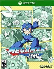 MEGA MAN LEGACY COLLECTION XBOX ONE NEW! 1,2,3,4,5 + 6 IN ONE! CLASSIC NES GAME!