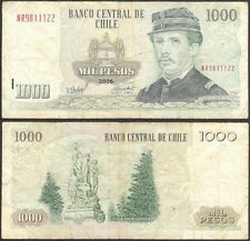CHILE - 1000 pesos 2006 P# 154g America banknote - Edelweiss Coins