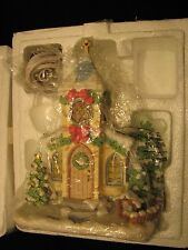 2001 Hawthorne Village Precious Moments HOLY NIGHT CHAPEL