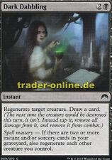 4x Dark dabbling (sombrío deexperimentación) Magic Origins Magic