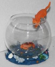 CRAB  - Fish Bowl Glass  Home Decor 12cm Diameter  holds .750 ml Fish Tank