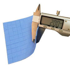 100pcs 10mm*10mm*2.0mm Silicone Thermal Conductive Pad HeatSink for VGA GPU IC