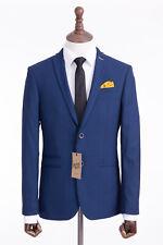 Men's Blue Mod Suit Antique Rogue 40S W36 L29
