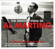 AL MARTINO - THE SMOOTH VOICE OF- 50 ORIGINAL RECORDINGS (NEW SEALED 2CD)