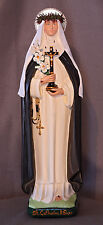 "St. Catherine of Siena 18"" Christian Catholic Religous Saints Plaster Statue"