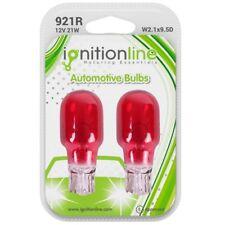 2 x 921 12V 21W Red Capless Stop High Break Lights Wedge Car Bulbs W2.1x9.5D