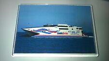 Condor Ferries CONDOR EXPRESS Large Fridge Magnet Fast Ferry Incat