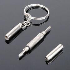 3 in 1 Mini Screwdriver Key Chain Eyeglasses Repair Vaporizer Fix Precision Tool
